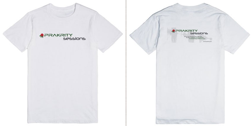 prakrity sessions t-shirts now available
