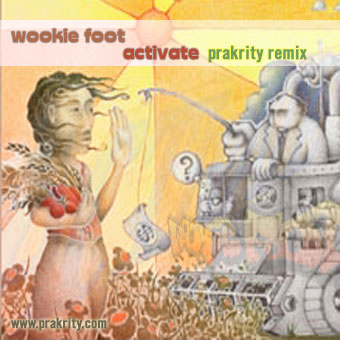 wookie foot - activate (prakrity remix)